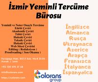 Tüm Dillerde Yeminli ve Noter Onaylı Tercüme